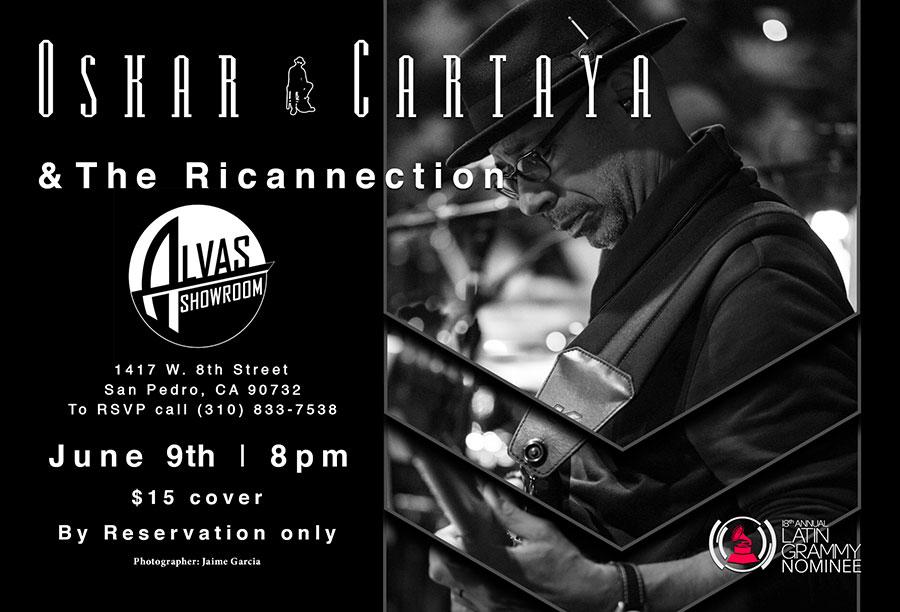Oskar Cartaya & The Ricannection Event