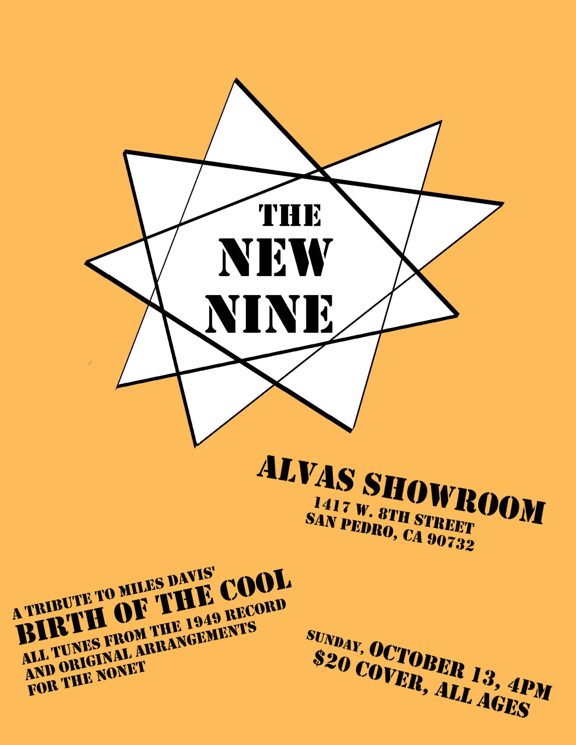 The New Nine Ensemble Poster