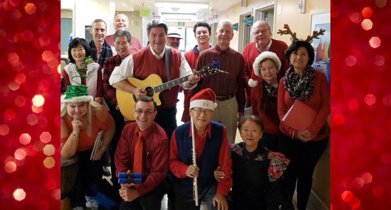 Christmas Caroling Party